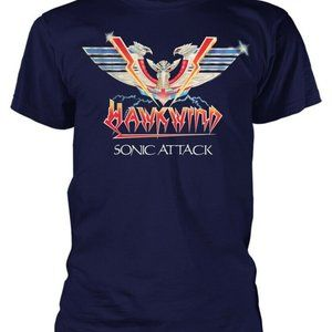hawkwind sonic attack new UK 2xl tee 2 sided art